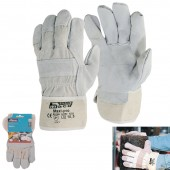 Γάντια εργασίας δερματοπάνινα Maxi-Pro No 10,5