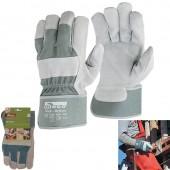Γάντια εργασίας δερματοπάνινα Maxi-Action No 10,5