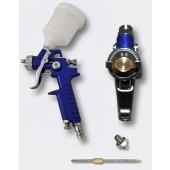 Αερογράφος HVLP 0,5 και 0,8mm με πάνω δοχείο