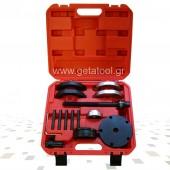 Εργαλεία αφαίρεσης / τοποθέτησης ρουλεμάν εμπρός τροχού VW T5 και Touareg - 85mm