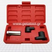 Σετ 3 καρυδάκια 22mm - 6γωνα για αισθητήρες οξυγόνου