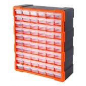Κουτί αποθήκευσης πλαστικό με 60 συρτάρια διάφανα