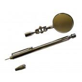 Καθρέπτης - μαγνήτης τηλεσκοπικός με βελόνα στο πίσω μέρος